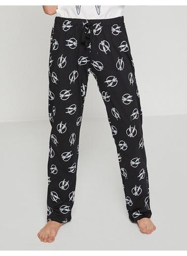 Koton Pijama Takım Lacivert